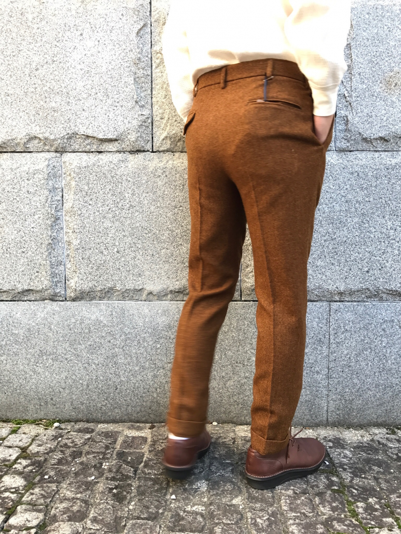BROWN by 2-tacs - TIGHT SLACK -