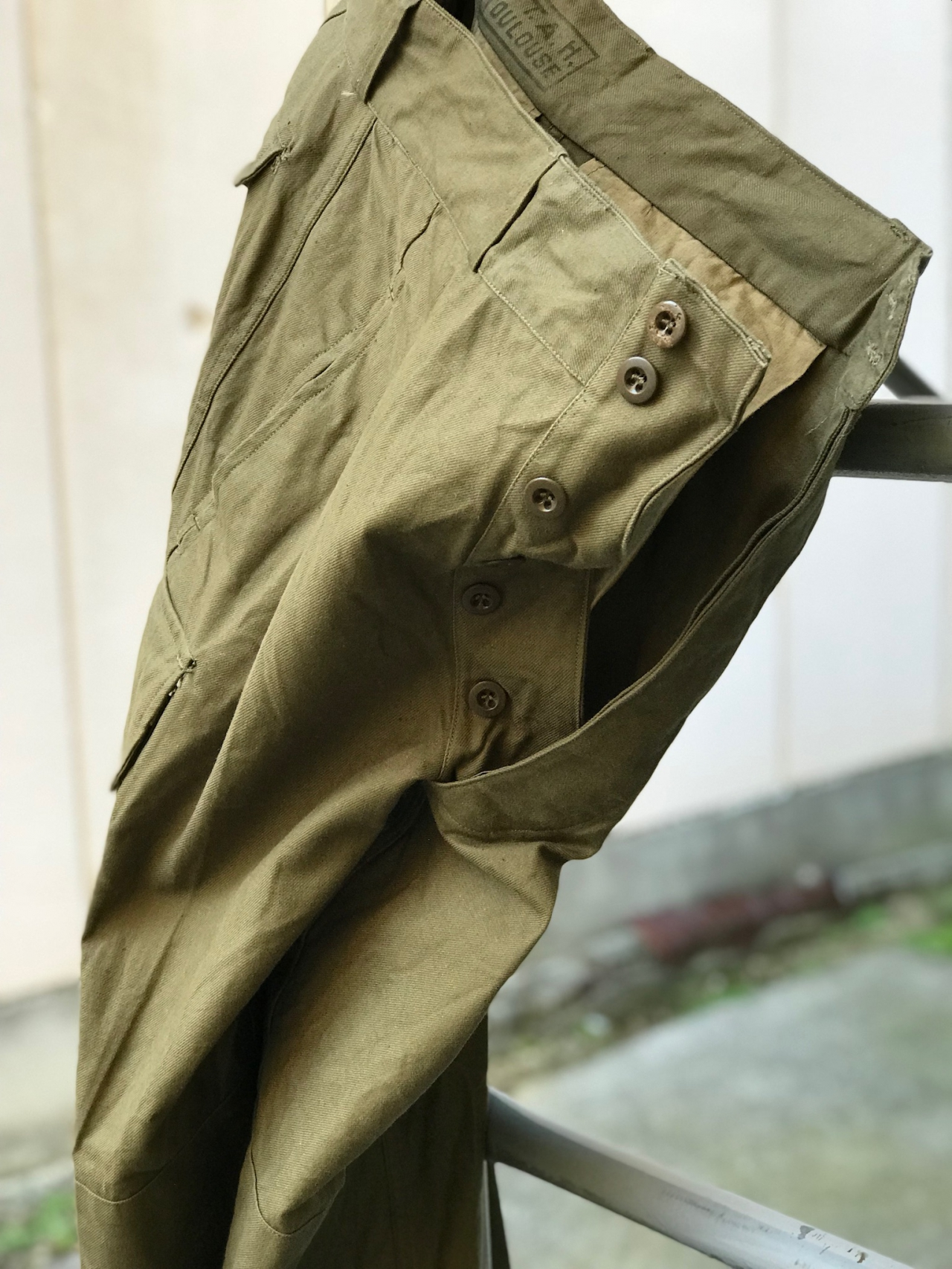 "Deadstock - 1950's French Army M-47 Field Pants "" 前期型 "" -"