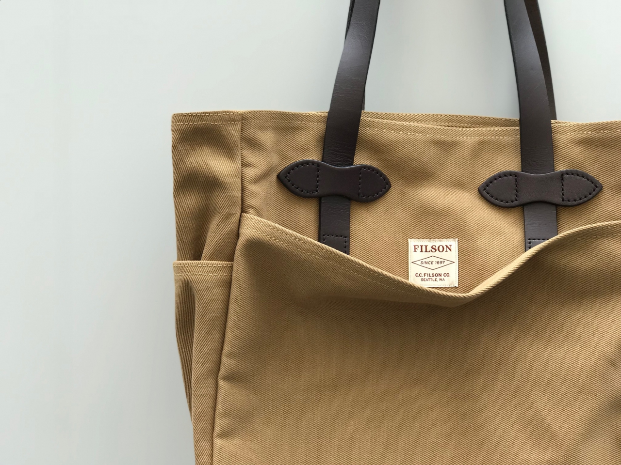 FILSON - TOTE BAG WITHOUT ZIPPER -