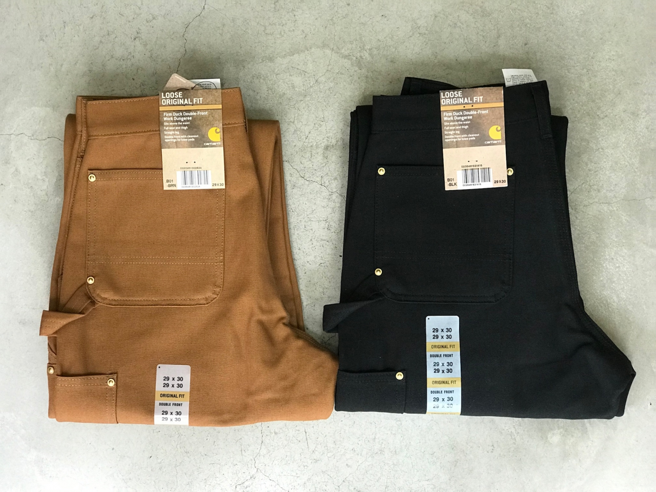 CARHARTT - Double Front Work Pants & Legacy Tool Pouch -