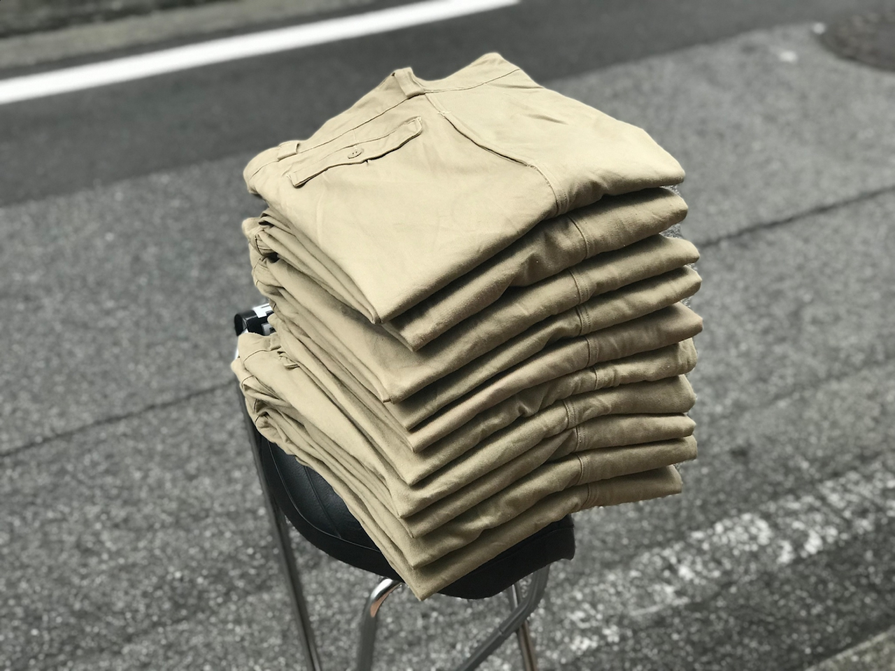 DEADSTOCK - 1960's French Army Chino -