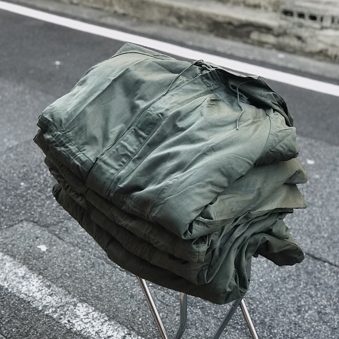 DEADSTOCK - 1970's French Army M-64 Mods Coat Parka -