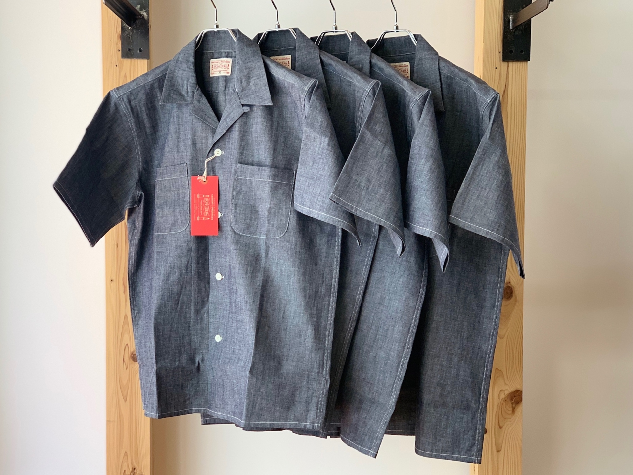 BONCOURA - ONE-UP S/S SHIRTS -