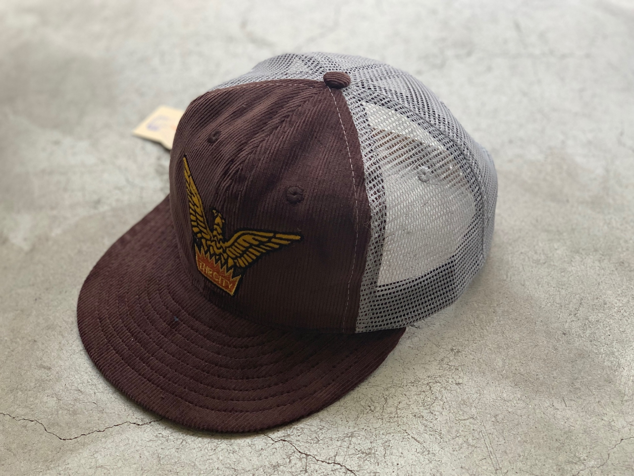 """EBBETS FIELD FLANNELS - """" THE CITY BB CAP """" Exclusively for slowpoke  -"""
