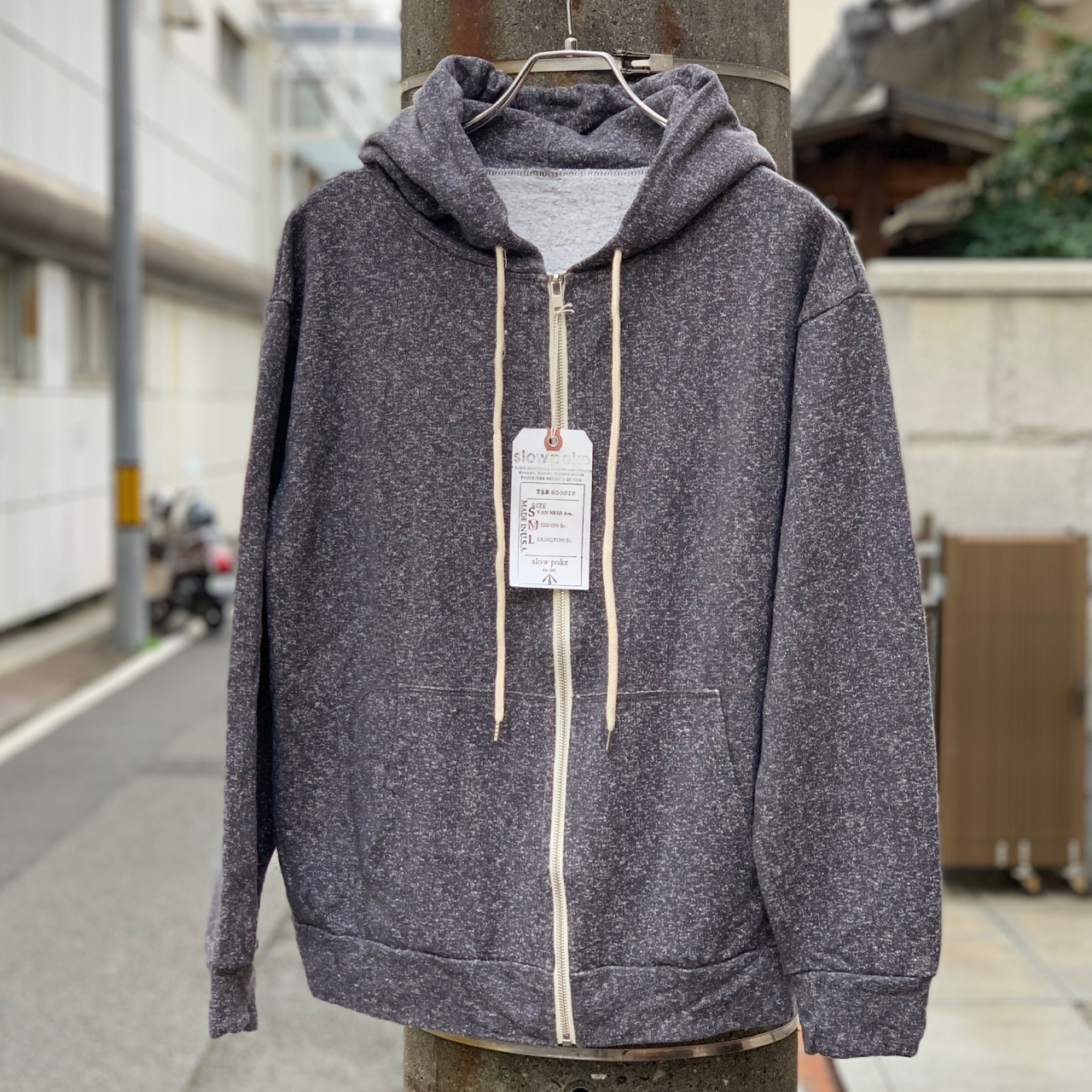 THE CITY FABRICATION - THE HOODIE  -