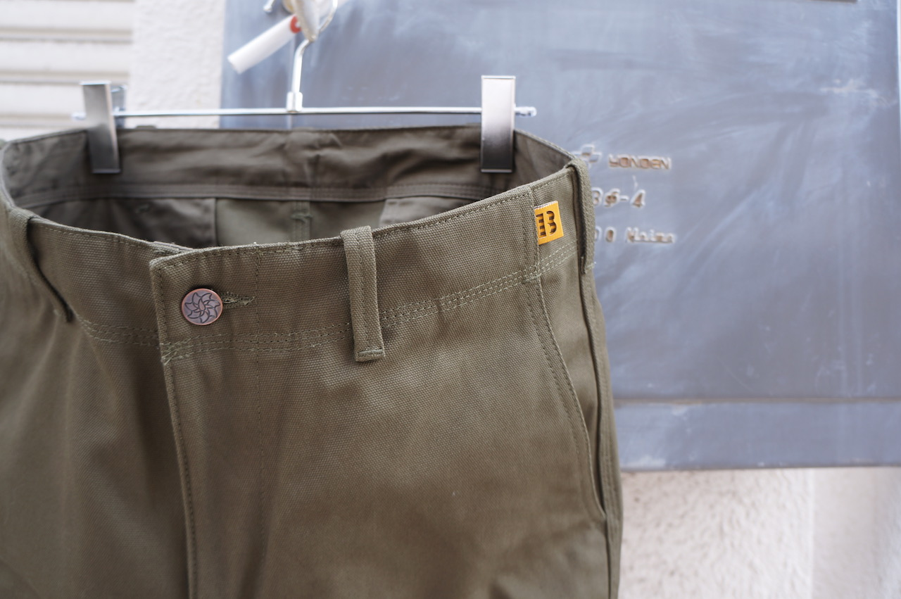 BROWN by 2-tacs -TAPERED・FLARED・WIDE-