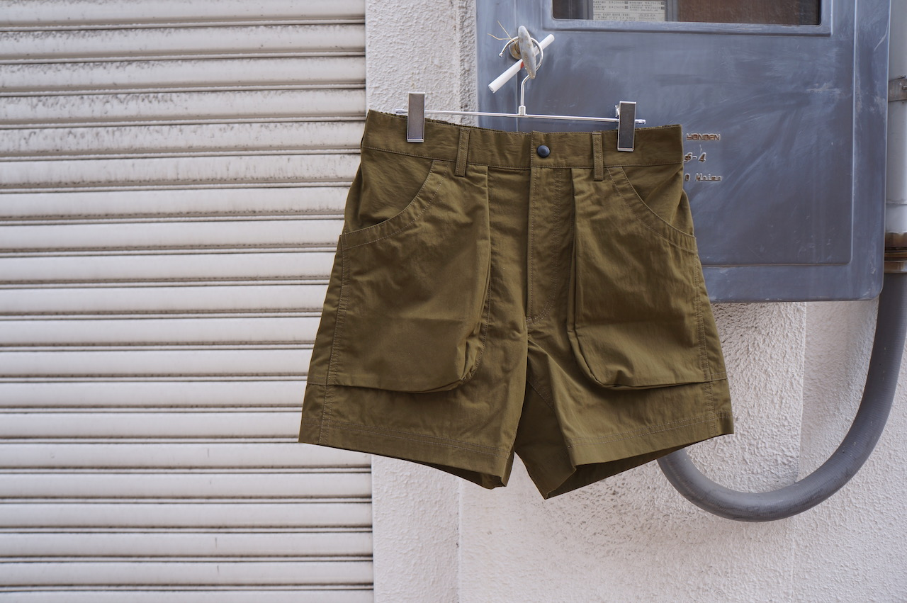 BROWN by 2-tacs -HIKE SHORTS-